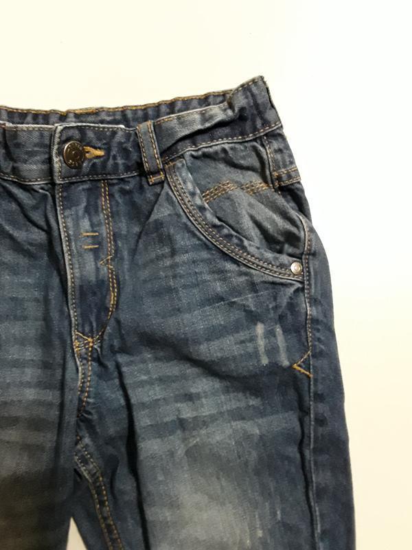 Фирменные джинсы 7-8 лет - Фото 3