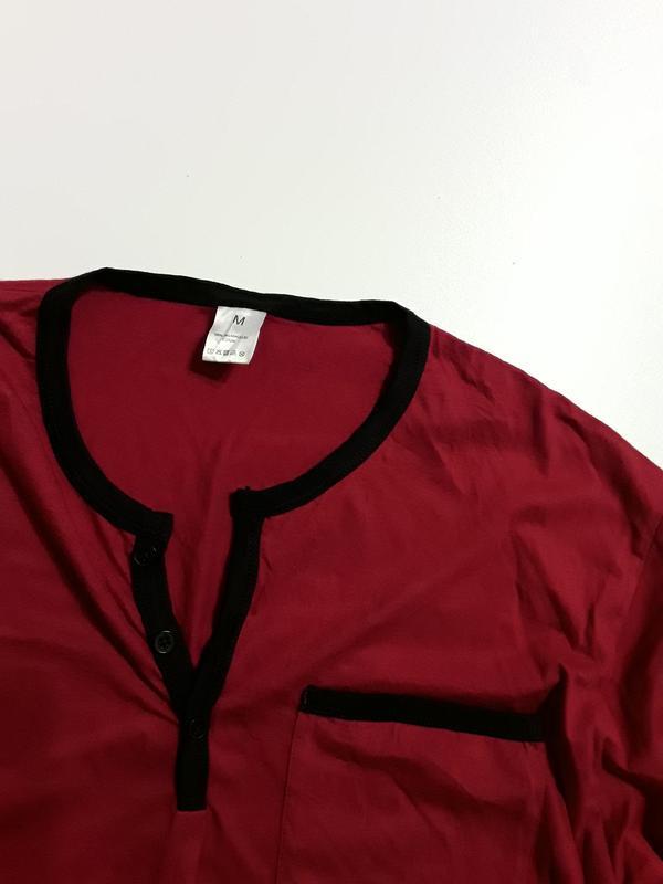 Фирменная пижама верх  m - Фото 2