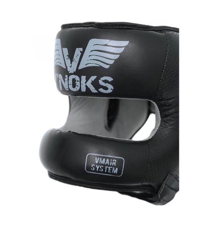 Боксерский шлем V`Noks с бампером Boxing Machine PRO Черный