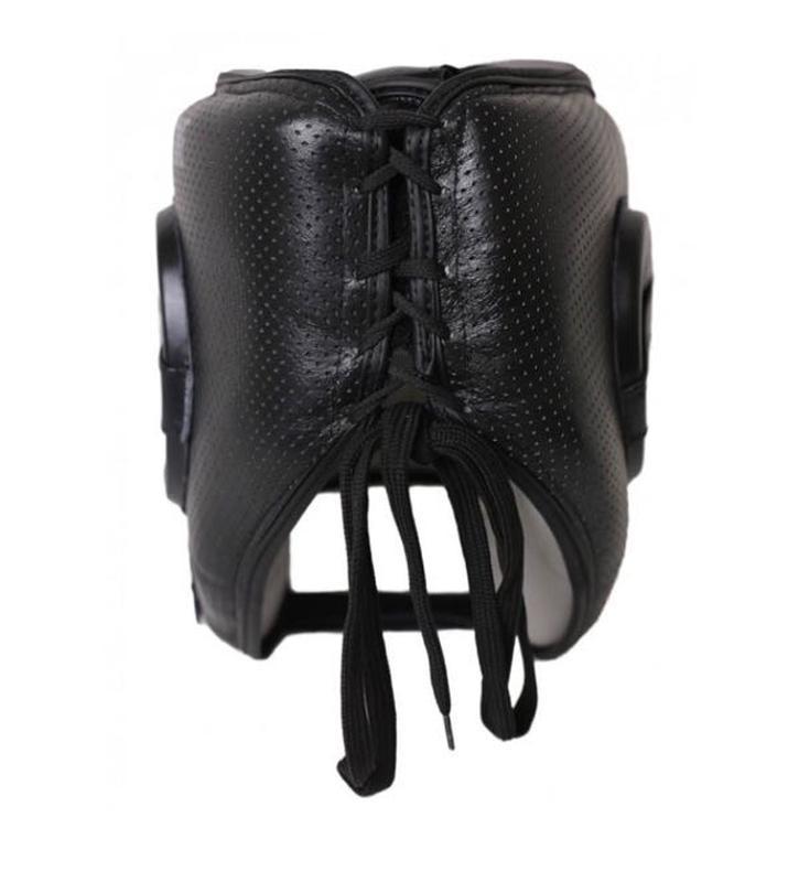 Боксерский шлем V`Noks с бампером Boxing Machine PRO Черный - Фото 5