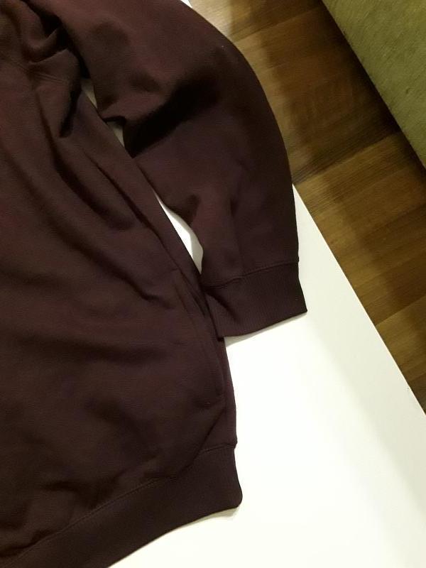 Фирменная теплая кофта худи олимпийка - Фото 5