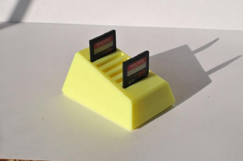 Холдер для SD карт памяти, держатель карт, подставка