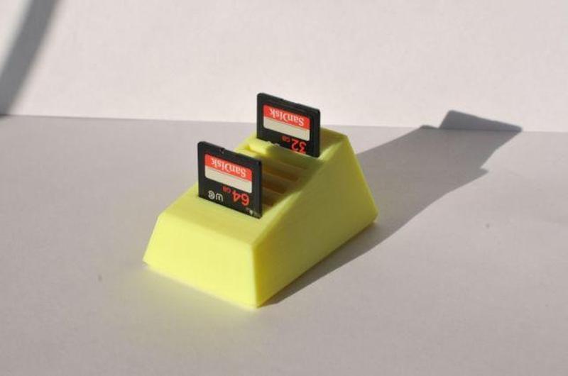 Холдер для SD карт памяти, держатель карт, подставка - Фото 5