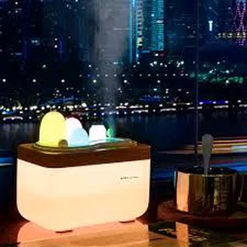 Увлажнитель воздуха Ночник Ароматизатор очиститель ароматерапия - Фото 2