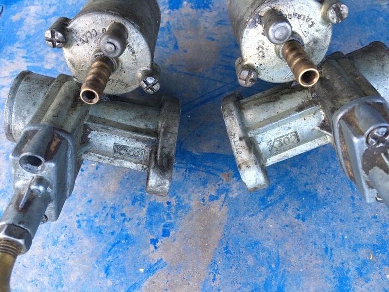 Карбюраторы К-302, левый, правый, пара, К750, М72Н, ссср - Фото 3