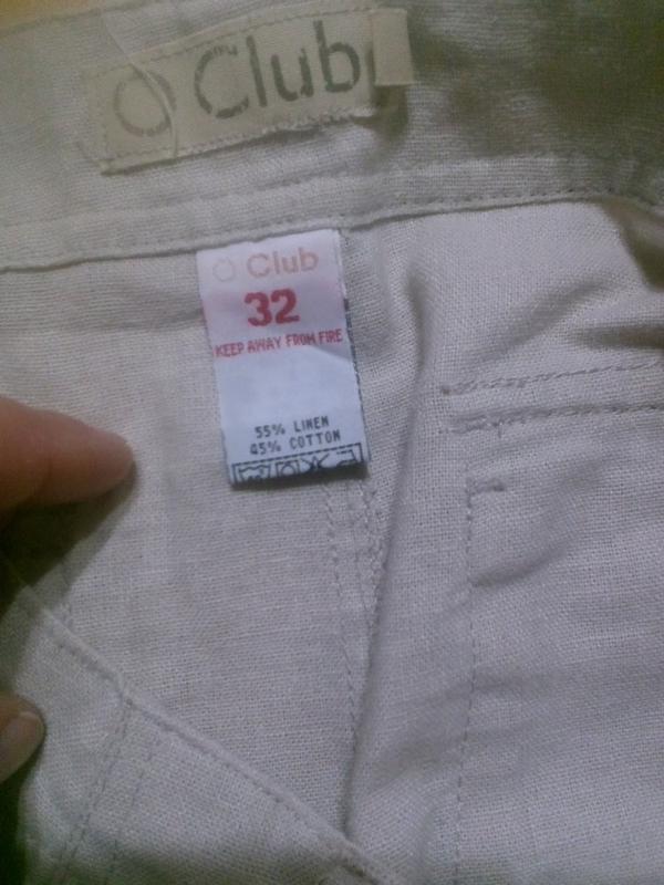 Фирменные шорты лен+хлопок 32 р. - Фото 3