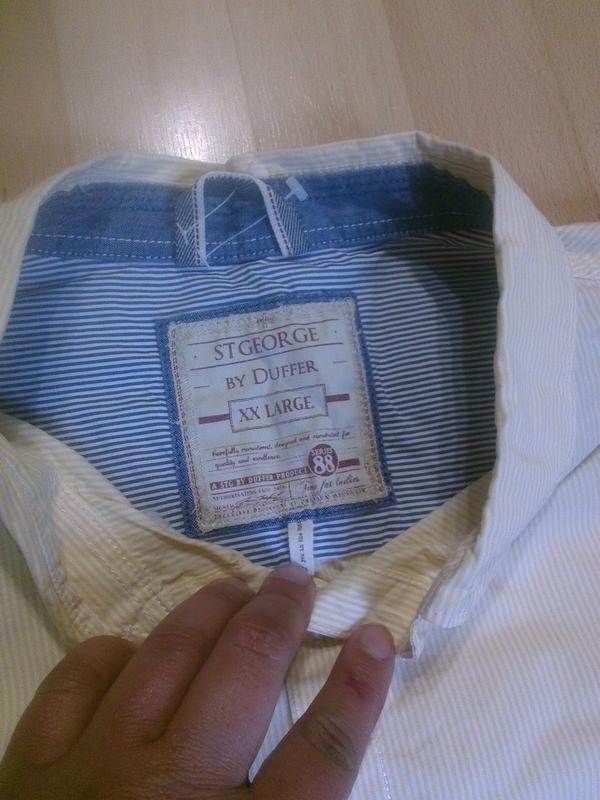 Фирменная рубашка xxl - Фото 2