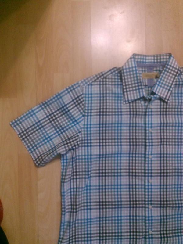 Фирменная рубашка xl - Фото 5