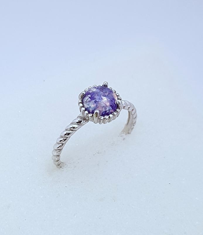 Серебряное кольцо 925 проба, размер 18.5