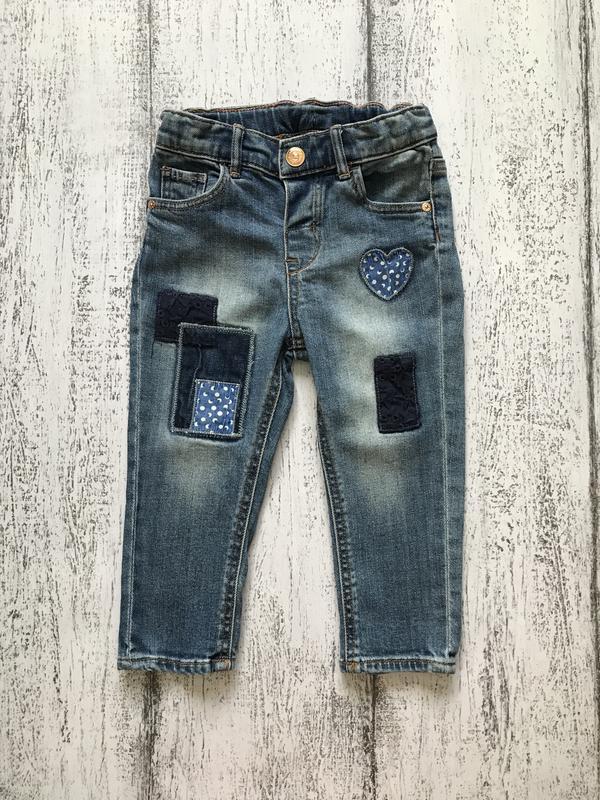 Стильные джинсы штаны брюки лосины h&m