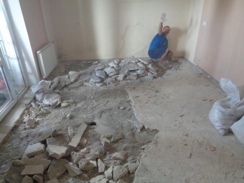 Демонтаж стен, штукатурки, плитки, покрытия пола. - Фото 2