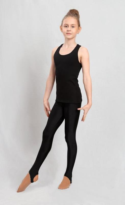 Лосины со штрипкой для гимнастики и танцев детские - Фото 2