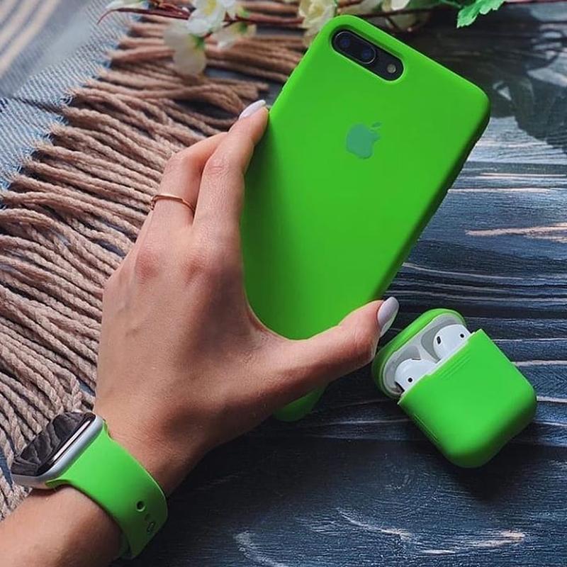 Силіконовий спортивний ремінець sport band для годинника apple... - Фото 2