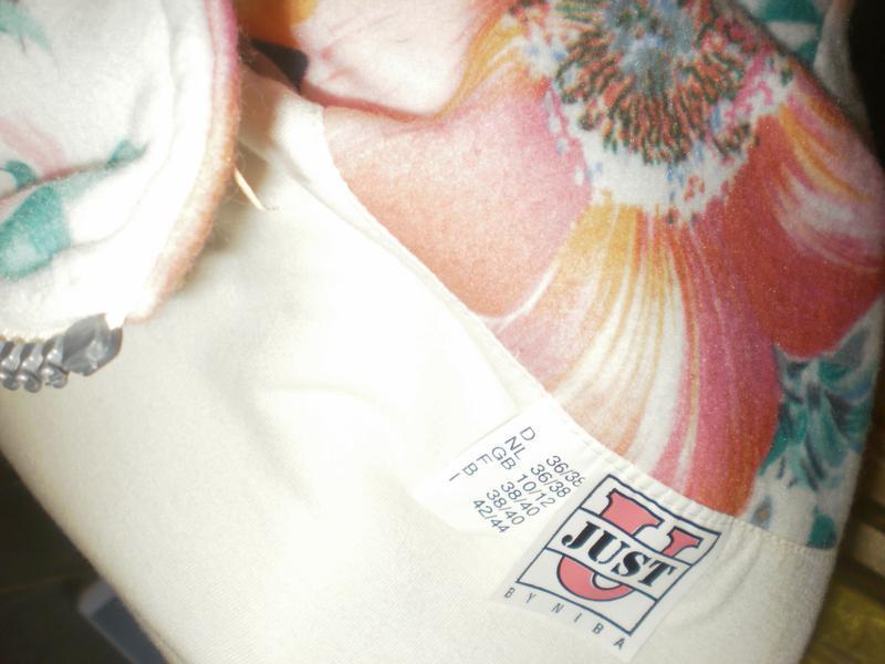 Яскрава флісова безрукавка з квітковим принтом just - Фото 4