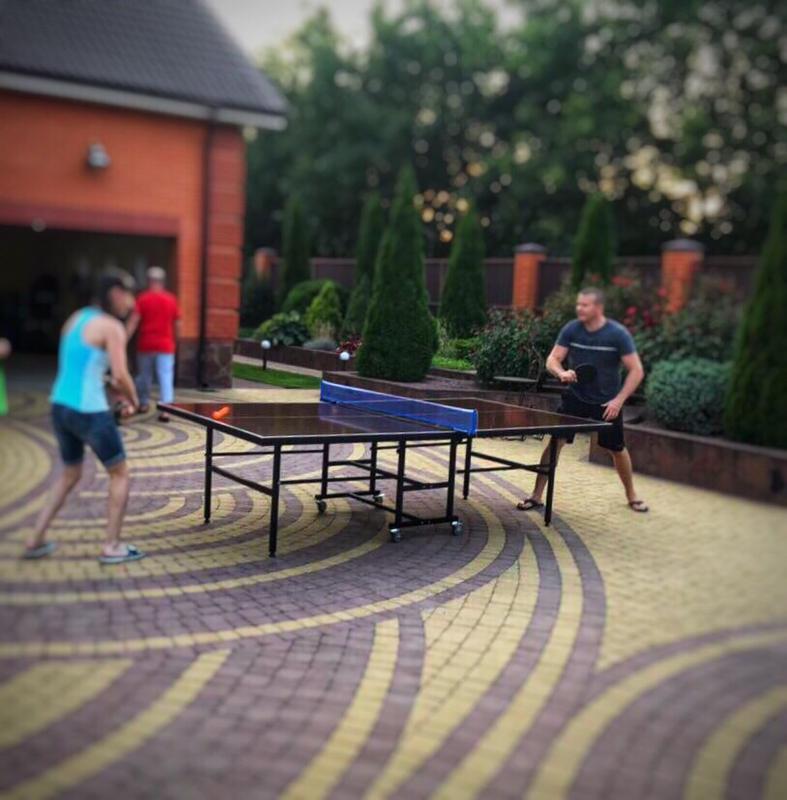 Теннисный стол для улицы (всепогодный), теннис, тенісний стіл вул