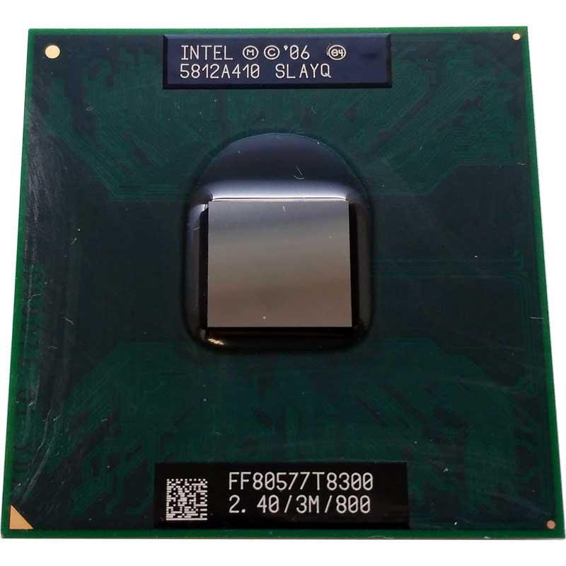 Процессор В Ноутбук Intel Core 2 Duo T8300 2.40GHz Socket P