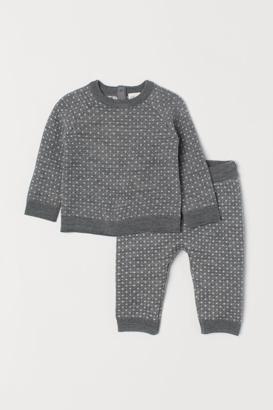 Джемпер и брюки pure merino wool premium quality