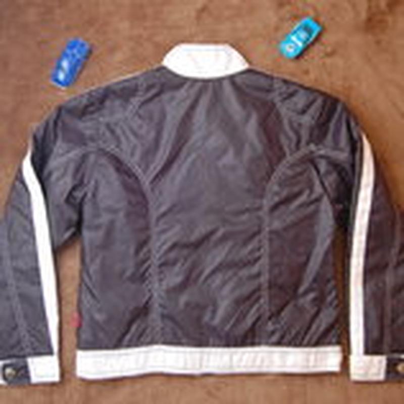 Куртка, стеганая, синяя, 152-158 - Фото 2