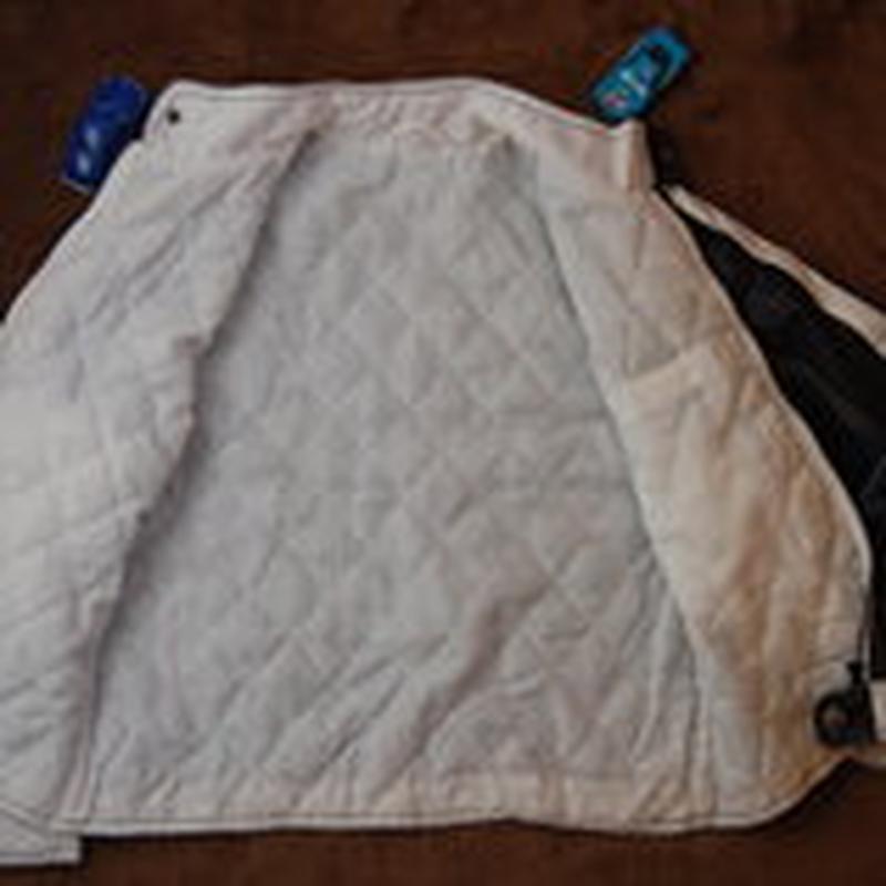 Куртка, стеганая, синяя, 152-158 - Фото 3