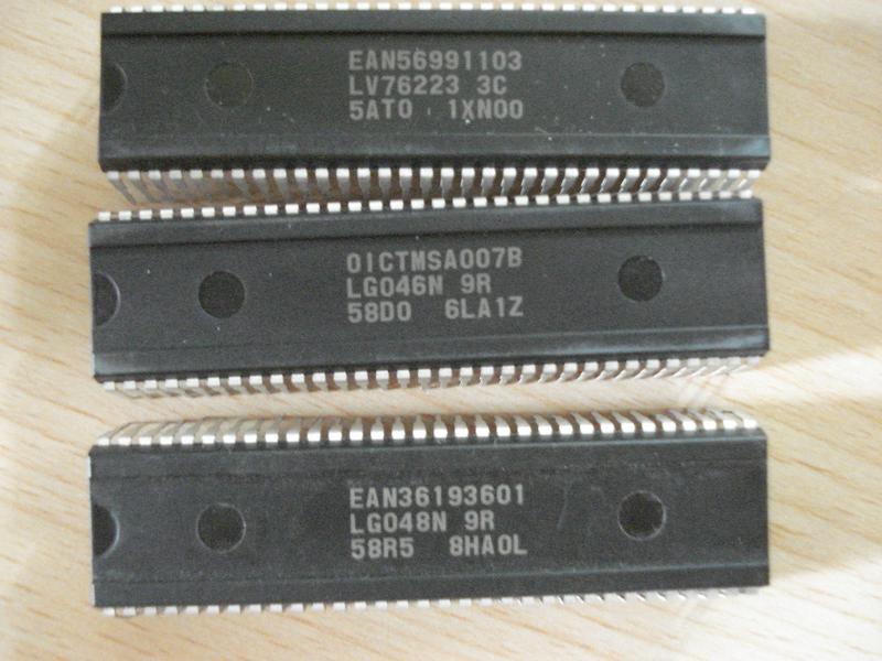 Микросхемы LG046N 9R OICTMSA007B  EAN36193601 LG048N 9R EAN569911