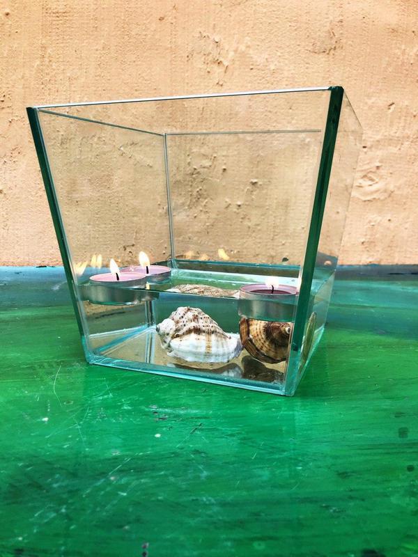Вазоны из стекла, стеклянные вазы, декор из стекла, стекло - Фото 9