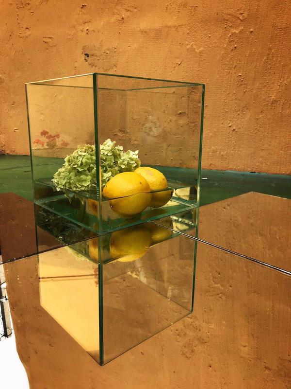 Вазоны из стекла, стеклянные вазы, декор из стекла, стекло - Фото 11