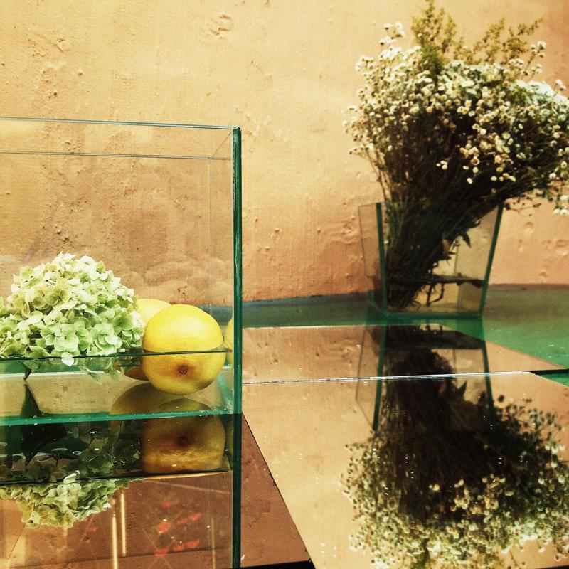 Вазоны из стекла, стеклянные вазы, декор из стекла, стекло - Фото 17