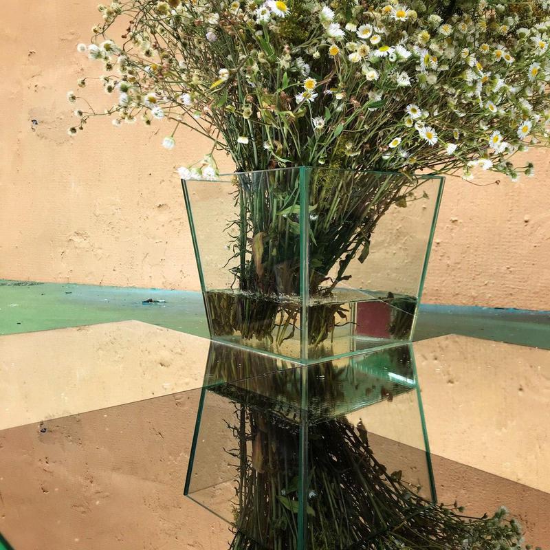 Вазоны из стекла, стеклянные вазы, декор из стекла, стекло - Фото 20