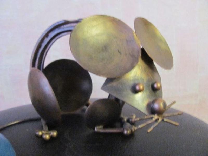 Мышь металл Арт Стимпанк Стим-панк Contemporary ART Steampunk