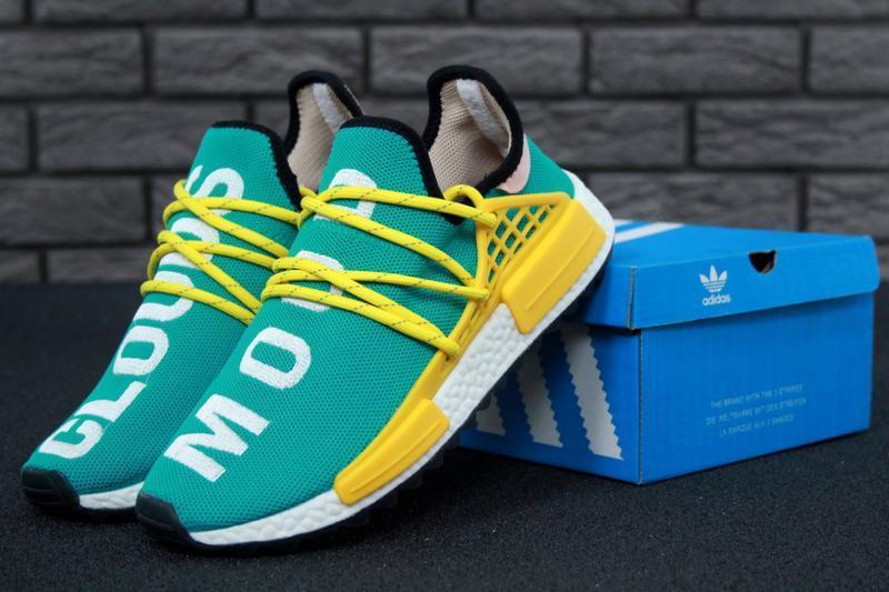 Роскошные кроссовки 💪 adidas x pharrell williams human race nm...