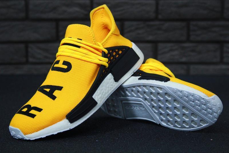 Роскошные кроссовки 💪 adidas x pharrell williams human race nm... - Фото 2