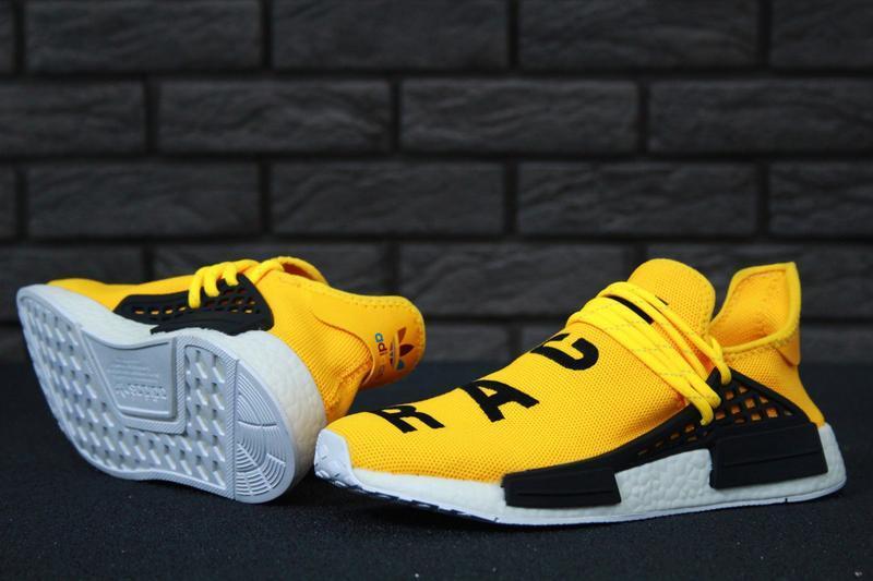 Роскошные кроссовки 💪 adidas x pharrell williams human race nm... - Фото 3