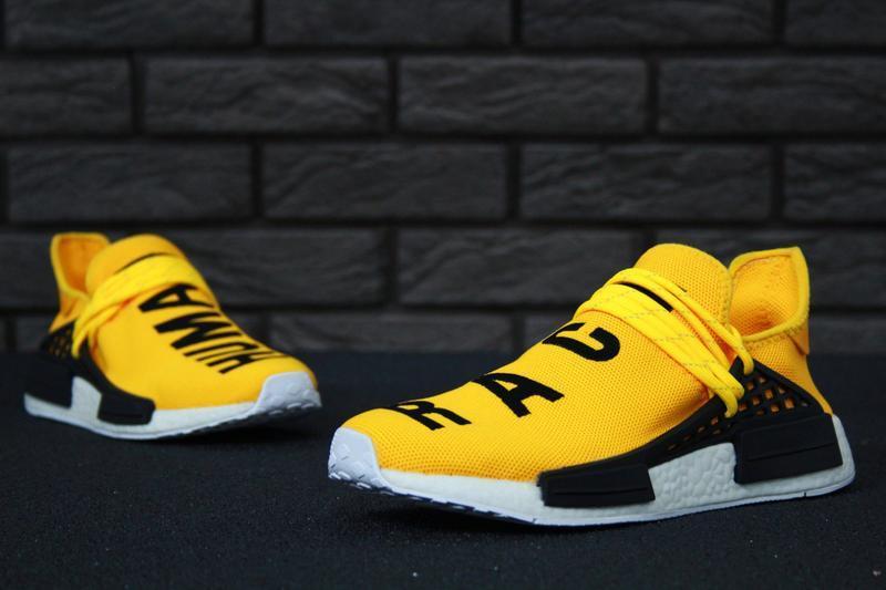 Роскошные кроссовки 💪 adidas x pharrell williams human race nm... - Фото 5