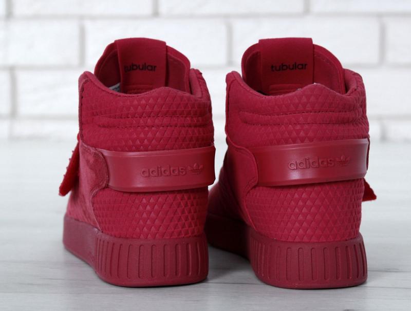 Очень крутые кроссовки 💪 tubular invader strap red 💪 - Фото 3