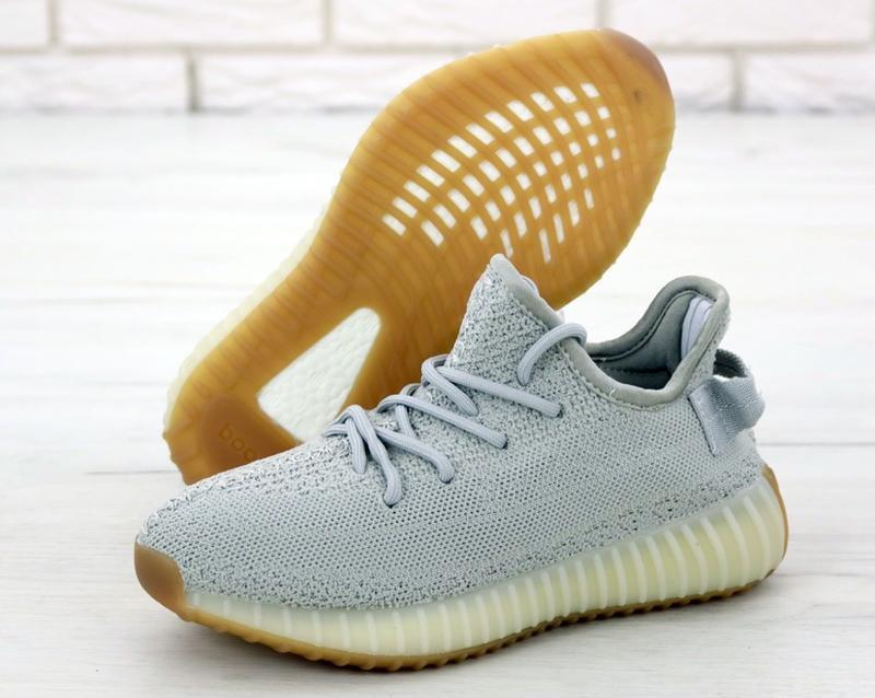Известные кроссовки 💪 adidas yeezy boost 350 gray 💪 - Фото 2