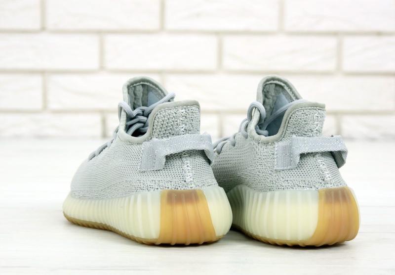 Известные кроссовки 💪 adidas yeezy boost 350 gray 💪 - Фото 3