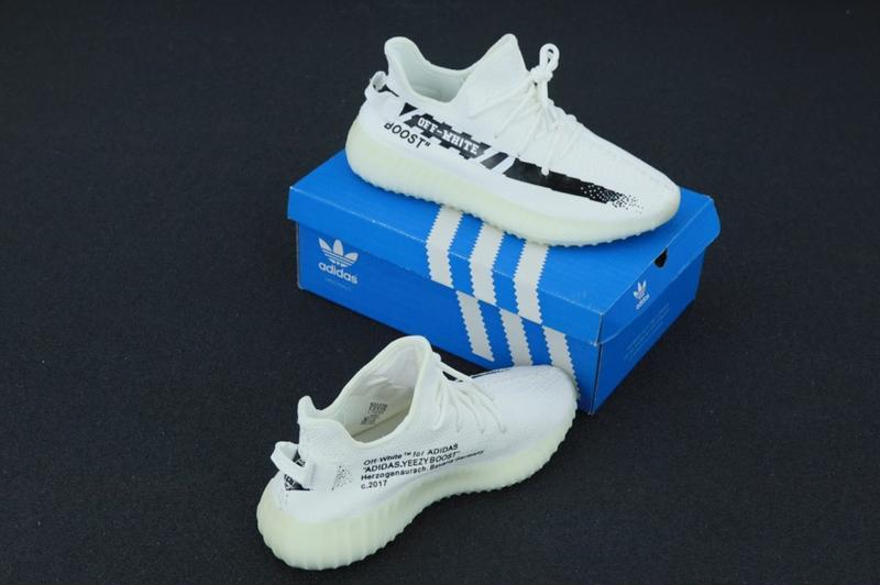 Очень крутые кроссовки 💪 adidas yeezy boost 350 off-white  💪 - Фото 3