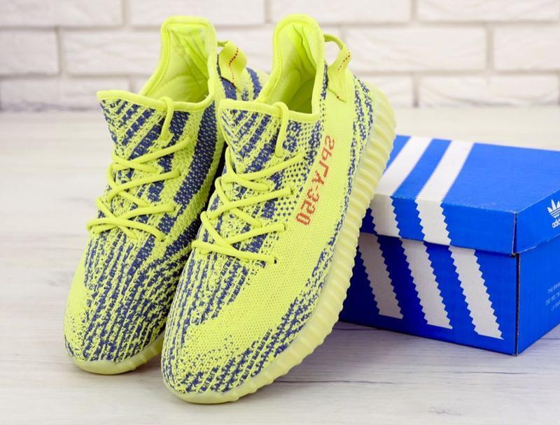 Хайповые кроссовки 💪  adidas yeezy boost 350 off-white yellow 💪