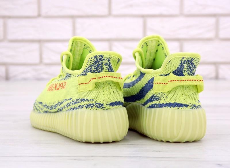 Хайповые кроссовки 💪  adidas yeezy boost 350 off-white yellow 💪 - Фото 2
