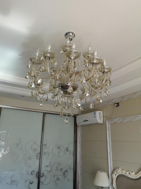 Роскошная классическая люстра на 15 рожков - Фото 2