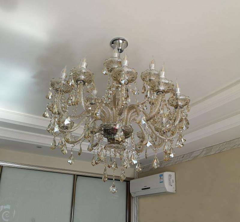 Роскошная классическая люстра на 15 рожков - Фото 4