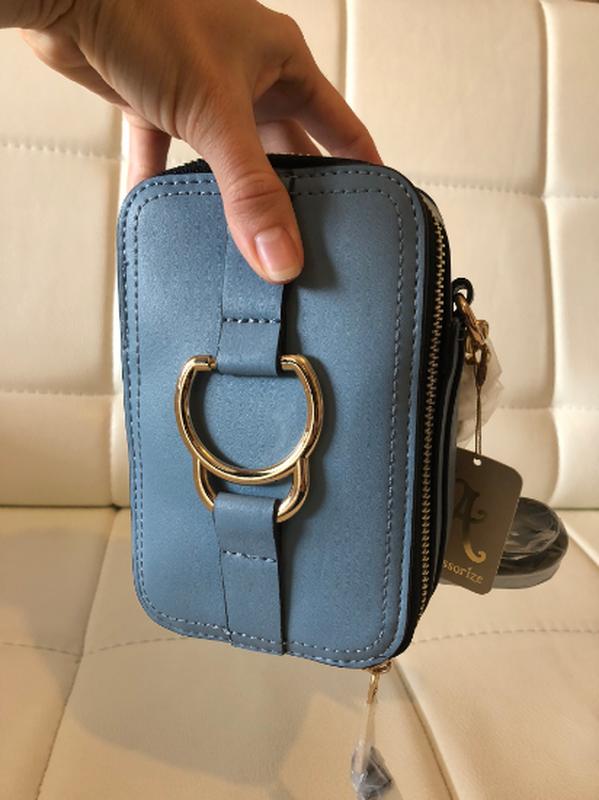 В наличии оригинальные нестандартные сумочки кроссбоди англия - Фото 5