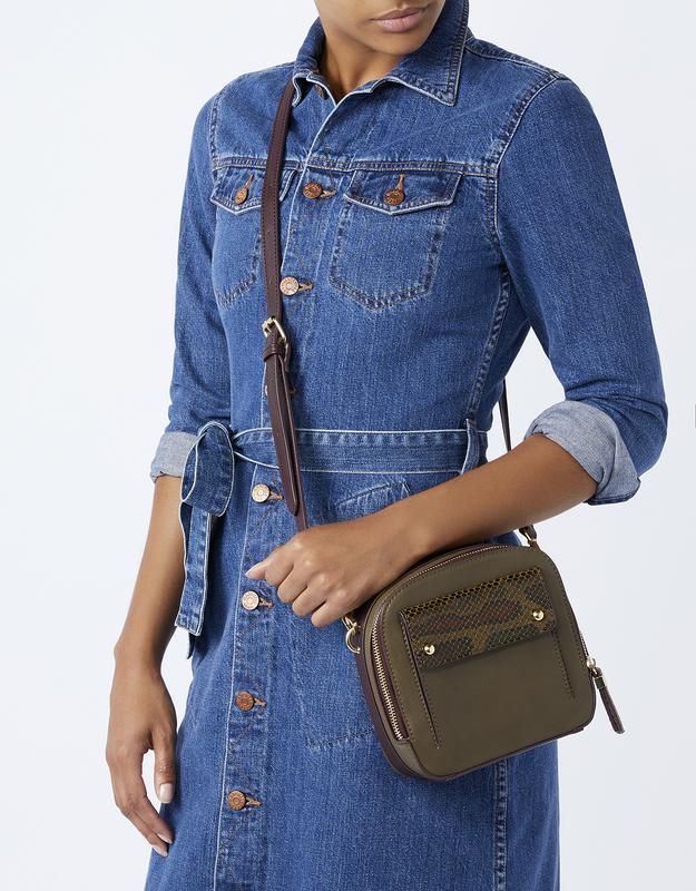 Новая стильная сумочка цвета хаки англия оригинал