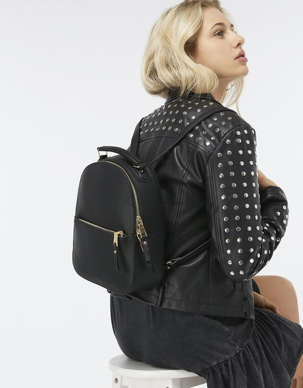 Рюкзак миди под тисненную кожу англия accessorize
