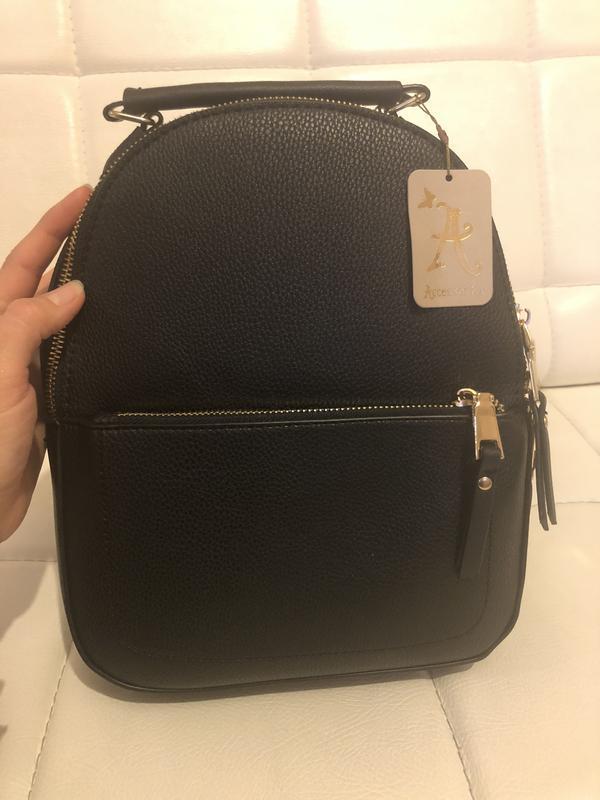 Рюкзак миди под тисненную кожу англия accessorize - Фото 2