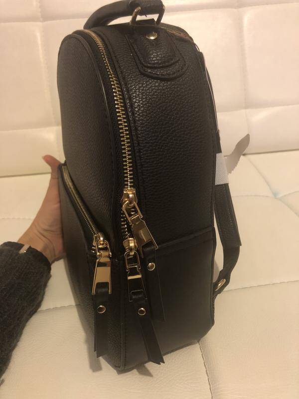Рюкзак миди под тисненную кожу англия accessorize - Фото 3