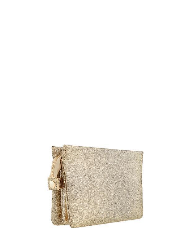 Сумочка клатч кроссбоди золотистого цвета англия оригинал - Фото 2