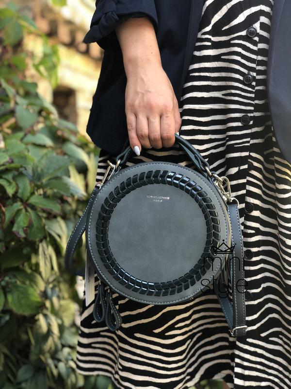 Сумка на длинной ручке cross-body сумочка трендовая и стильная... - Фото 4