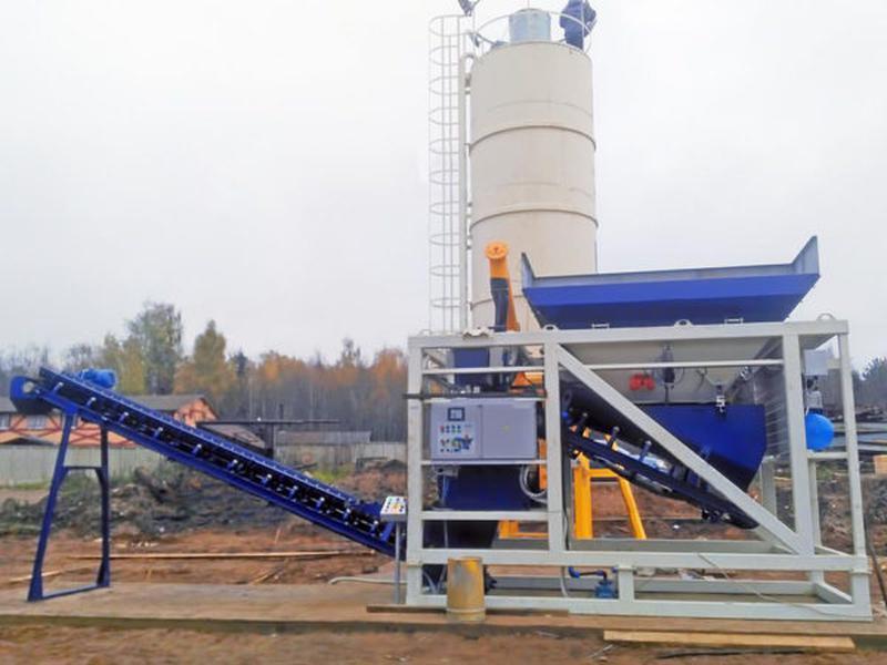 Мобильные бетонные заводы. Бетонный завод