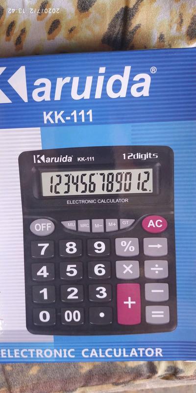 Калькулятор большой 20 на 16 см - Фото 4